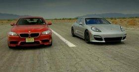 Porsche Panamera GTS vs BMW M5