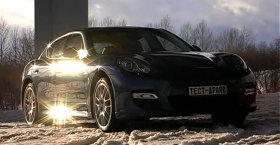 Porsche Panamera Turbo (Test Drive 2011)