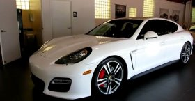 Porsche Panamera GTS Carrara White (2013)