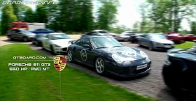 Porsche 911 GT2 vs Audi RS6 vs Maserati GT vs BMW M6 vs Audi R8 V10