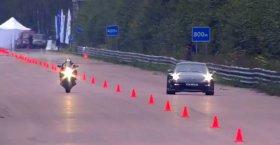 Porsche 911 Switzer R750 vs Suzuki GSX1300