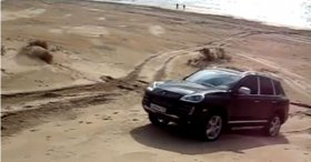 Porsche cayenne (Black Sea)