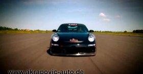 Porsche GT3 Akrapovic Sound